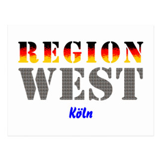 Region west - Cologne Post Cards