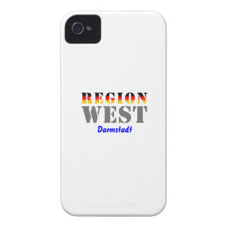 Region west - Darmstadt iPhone 4 Cases