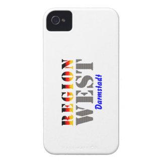 Region west - Darmstadt iPhone 4 Cover
