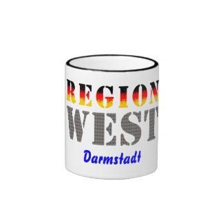 Region west - Darmstadt Ringer Mug