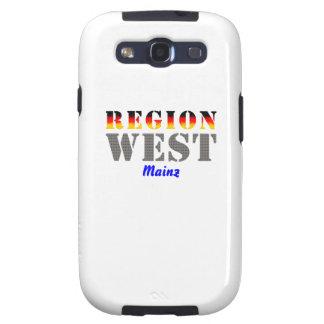 Región west - De Maguncia