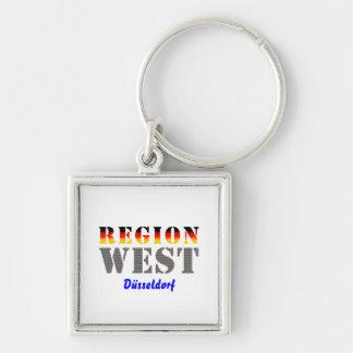 Region west - Duesseldorf Keychain