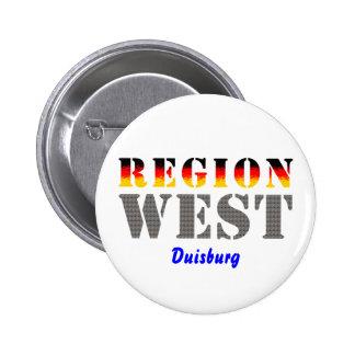Region west - Duisburg Pin