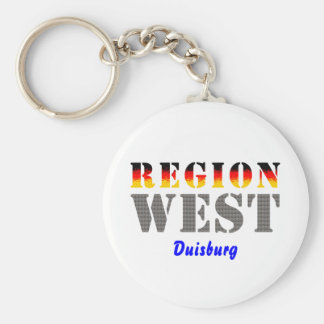 Region west - Duisburg Keychain