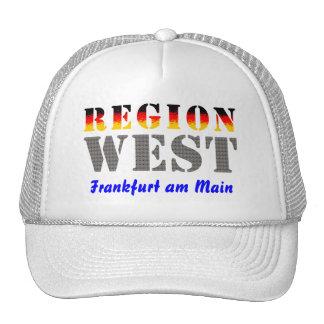 Region west - Frankfurt/Main Hats