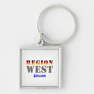 Region west - Gütersloh Keychain