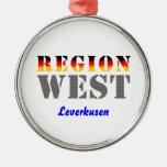 Region west - Leverkusen Christmas Ornaments