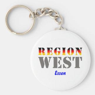 Region west - meals keychain