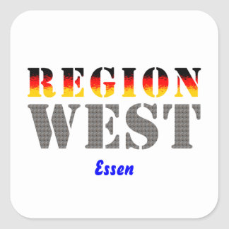 Region west - meals sticker