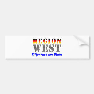 Region west - Offenbach at the Main Bumper Sticker