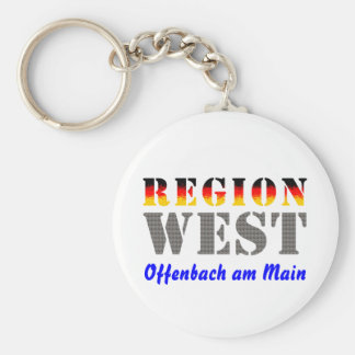 Region west - Offenbach at the Main Keychain