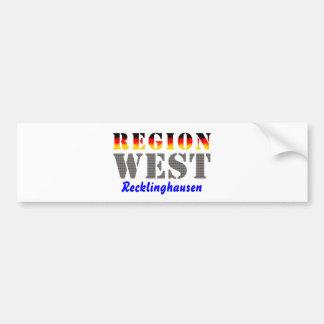 Region west - Recklinghausen Bumper Sticker