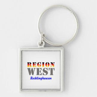 Region west - Recklinghausen Keychain