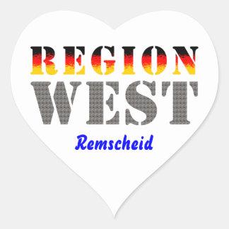 Region west - rem-separate stickers