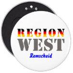 Region West - Remscheid Anstecknadelbutton