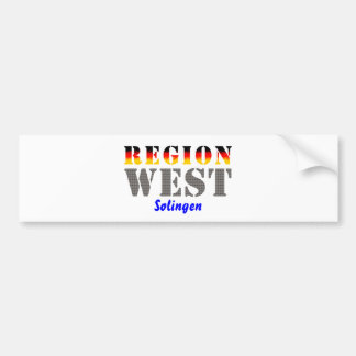 Region west - Solingen Bumper Sticker