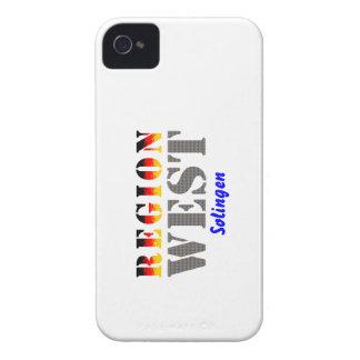 Region west - Solingen iPhone 4 Case-Mate Cases