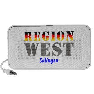 Region west - Solingen Mp3 Speaker