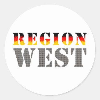Region west - West Germany Sticker