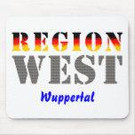 Region west - Wuppertal Mousepads