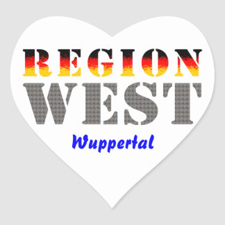 Region west - Wuppertal Sticker