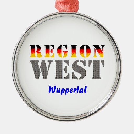 Region West - Wuppertal Weihnachtsbaum Ornament
