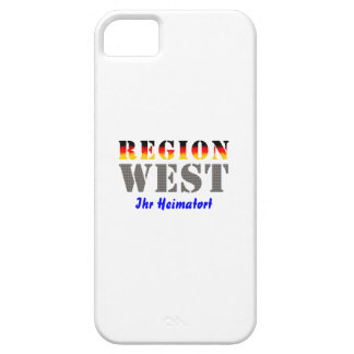 Region west - your place OF residence iPhone 5 Cover