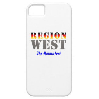 Region west - your place OF residence iPhone 5 Case