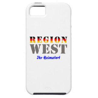 Region west - your place OF residence iPhone 5 Covers