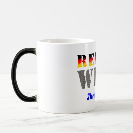 Region west - your place of residence coffee mugs