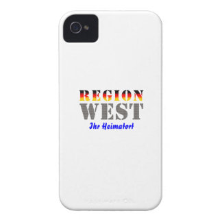 Region west - your place of residence iPhone 4 covers
