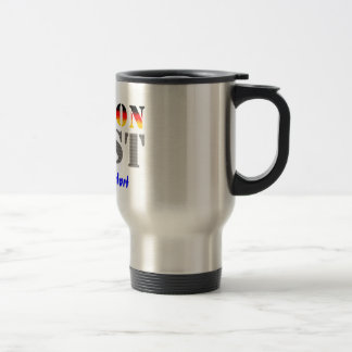 Region west - your place of residence 15 oz stainless steel travel mug