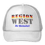 Region west - your place of residence trucker hat