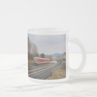 Regional course after Erndtebrück in peace village Frosted Glass Coffee Mug