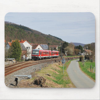 Regional course to Marburg in Buchenau Mouse Pad
