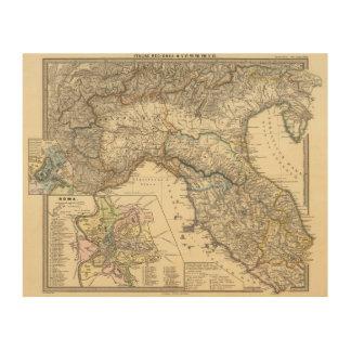 Regiones de Italiae IIIIXI Cuadros De Madera