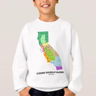 Regiones económicas de California (mapa) Remera