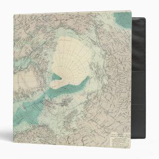 "Regiones polares del norte carpeta 1 1/2"""