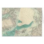 Regiones polares del norte tarjeta de felicitación