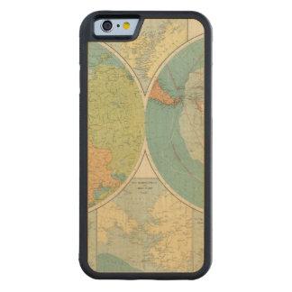 Regiones polares funda de iPhone 6 bumper arce