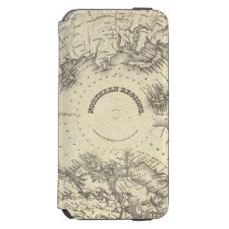 Regiones septentrionales funda cartera para iPhone 6 watson