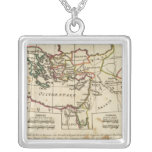 Regions, places in the New Testament Square Pendant Necklace