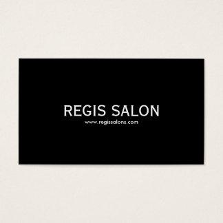 REGIS SALON, www.regissalons.com Business Card