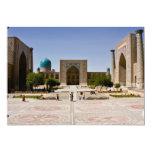 Registan, Samarkand Custom Announcement