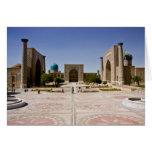 Registan, Samarkand Greeting Cards