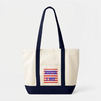 Register 2 Vote in Red, White & Blue Tote Bag