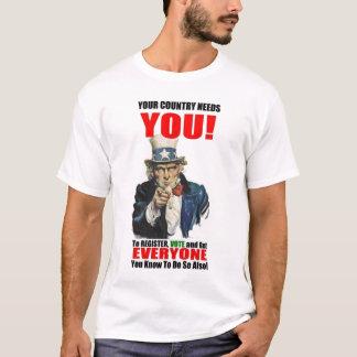 Register to Vote, 2008 T-Shirt