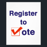 """Register To Vote 2018 Flyer<br><div class=""""desc"""">Take control of your future. Register to vote! The 2018 midterms are critical to determining who sets the agenda for the next two years in Washington DC and the State Houses across America. This election will also set the stage for the next presidential election in 2020. In some of the...</div>"""