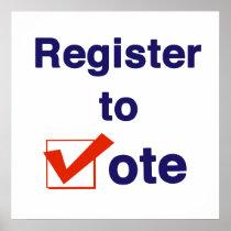 Register To Vote 2018 Poster