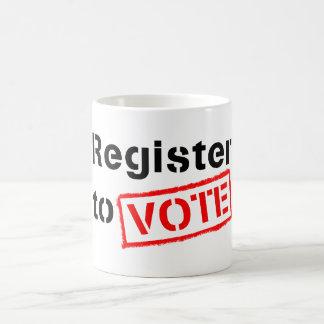Register to Vote Coffee Mug